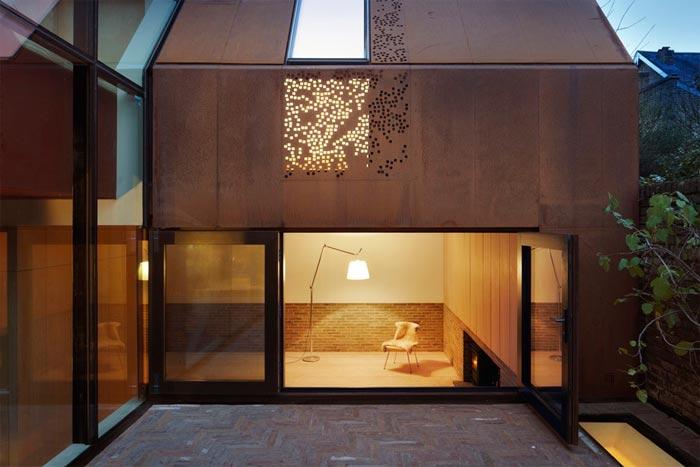 民宿旅社耐候钢板房